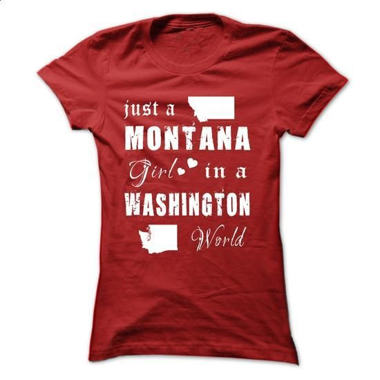 MONTANA GIRLS IN WASHINGTON - #hoodie for teens #cheap sweater. MORE INFO => https://www.sunfrog.com/States/MONTANA-GIRLS-IN-WASHINGTON-Red-15521047-Ladies.html?68278