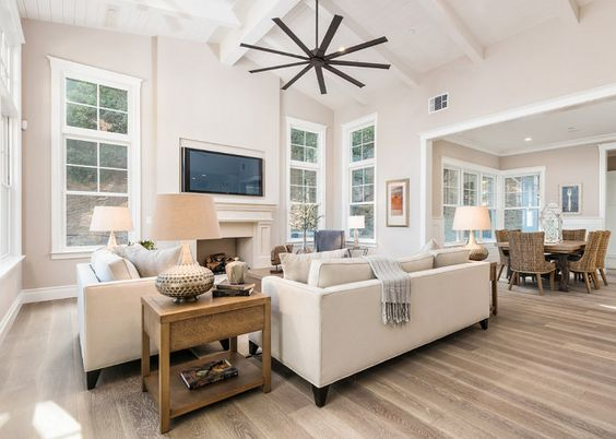 Neutral living room paint color is sherwin williams for Neutral gray paint for living room