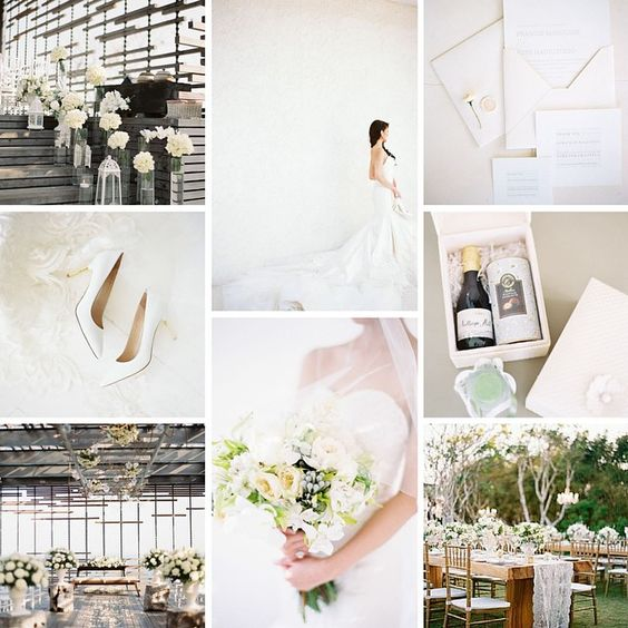 #Classic #white #wedding in #Bali! All white #florals and #gorgeous #lace #details. #Simplistic and #stylish #details #alfresco #destinationwedding #inspiration #moodboard #weddingplanning #weddingplanner. Photographed by @anggapermana and featured on @smpweddings