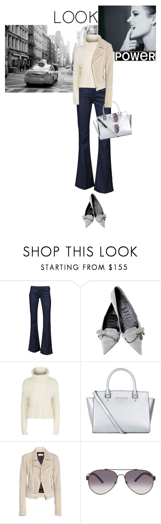 """Power By Comfort"" by paperdollsq ❤ liked on Polyvore featuring Hudson Jeans, Gucci, Tommy Hilfiger, MICHAEL Michael Kors, Balenciaga, Burberry and powerlook"