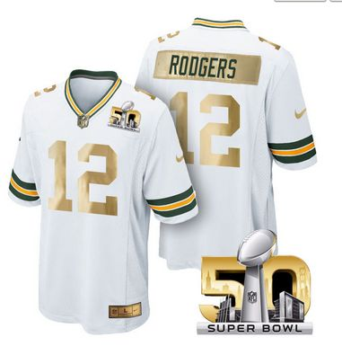 Pre Order #GreenBayPackers Jersey #12 Aaron Rodgers White  Super Bowl 50 Game Jerseys #NFL #nfljersey #brady #tombrady #patriots #newenglandpatriots #superbowl #street #style #swag #swagbr  #sports #lovesports #football