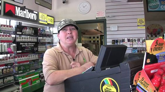 Lottery Winner at Mini-Mart