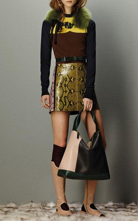 Marni Flash Collection Pre-Fall 2015 Trunkshow Look 1 on Moda Operandi