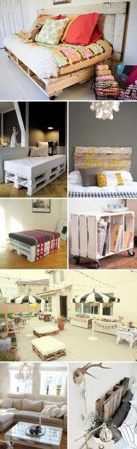 DIY – handmade kreatívne postupy a návody, paletový nábytok