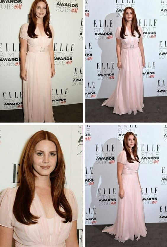 Feb.23, 2016: Lana Del Rey wins 'Best Female Artist Of The Year' at the ELLE Style Awards show in London! #LDR