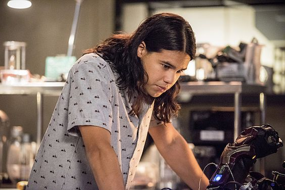 'Carlos Valdes' as 'Cisco Ramon' on 'The Flash'