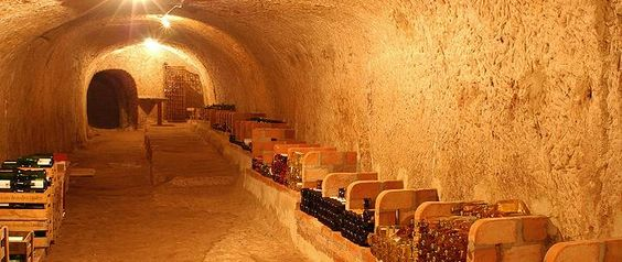 the wine cellar in the pelican in bamberg, germany... trying to get a reservation
