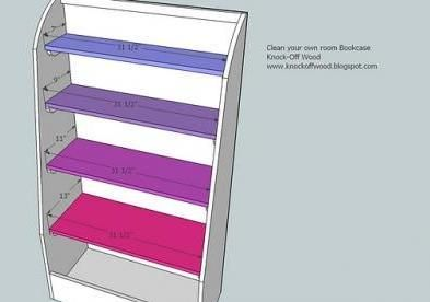 I want to make this! DIY Furniture Plan from Ana-White.com These bookcases are cute and extremely functional. I love the bottom bins. Even as young as three years old, your child could fill these bins with toys when instructed. Give your child a chance to be organized with the Banker's Bookcases.