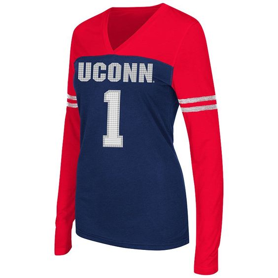 Campus Heritage UConn Huskies Packed Powder Tee, Women's, Size: