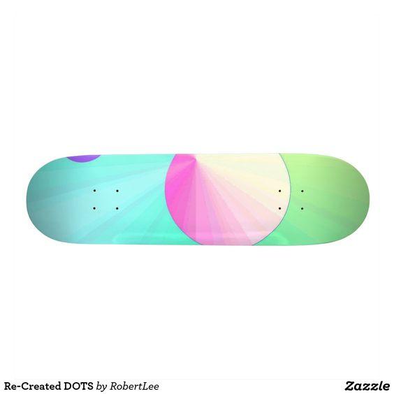 Re-Created DOTS Skate Board Decks #Robert #S. #Lee #skateboard #board #decks #skater #design #colors #customizable #re-created