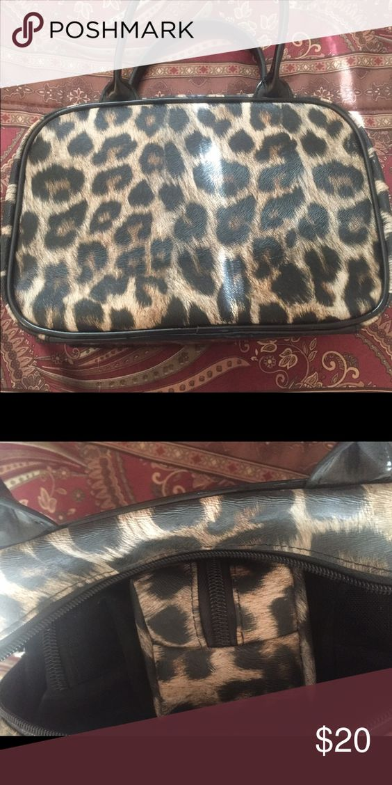 Super CUTE Make-Up Bag by Joy Mangano, NEW! Super CUTE Make-Up Bag by Joy Mangano, NEW! Color: Animal Print. Zip top w/removable small cases. Brand NEW ~ never Used! PERFECT! Joy Mangano Bags Cosmetic Bags & Cases