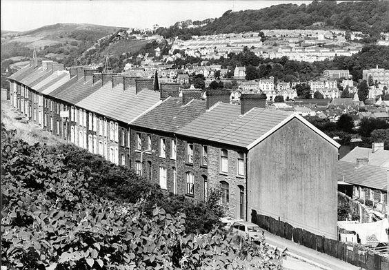 Pontypridd, Glamorgan, in the Welsh Valleys