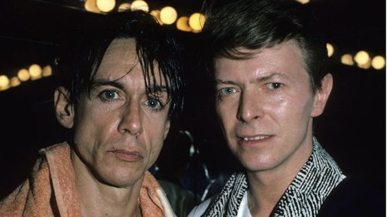 Iggy Pop & David Bowie