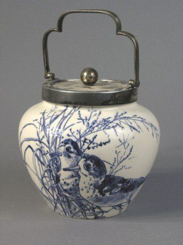 Royal Doulton Biscuit Jar