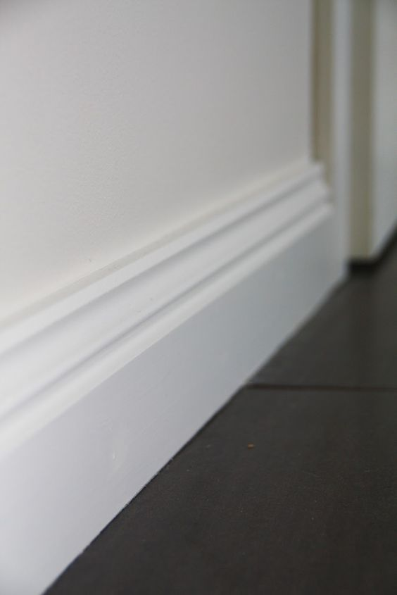 Get Dad to finish off the skirting boards in the kitchen, hallway, bedrooms.