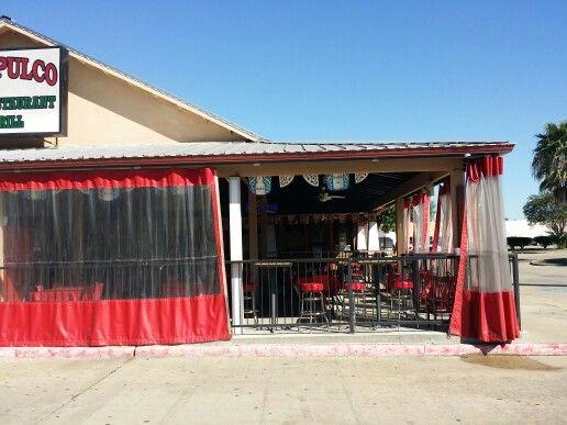 Clear Vinyl Curtains Are A Great Carport Enclosure Idea ... Curtains Ideas Clear  Vinyl Outdoor Patio ...
