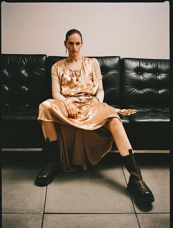 Vivien Solari by Sonia Szostak for Russh Magazine Winter 2019 — Anne of Carversville