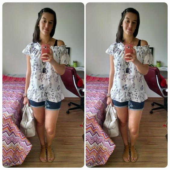 Bata + Short Jeans
