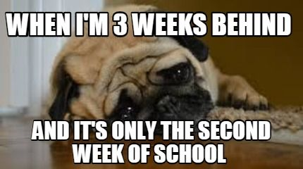 Meme Creator Funny When I M 3 Weeks Behind And It S Only The Second Week Of School Meme Generator At Memecreator Teaching Humor Teaching Memes Teacher Humor