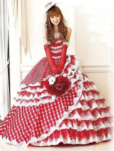 lolita ball gown?