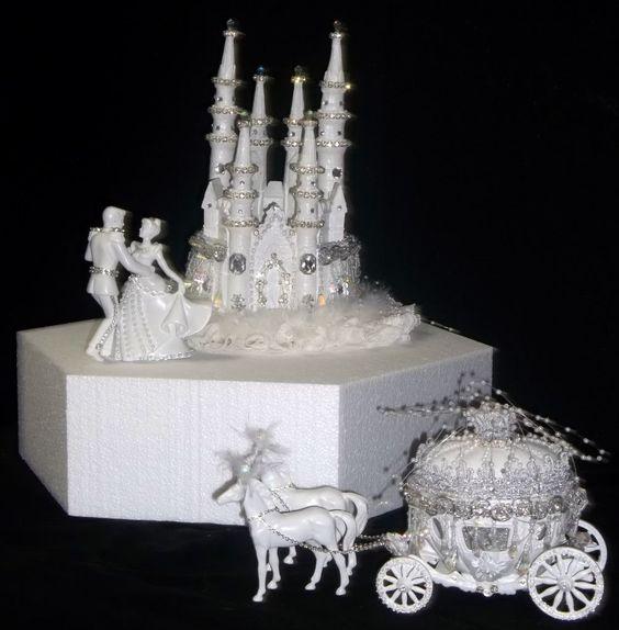 Disney Castle Cake Topper