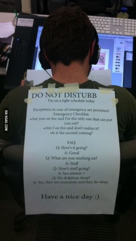 18831 Do Not Disturb