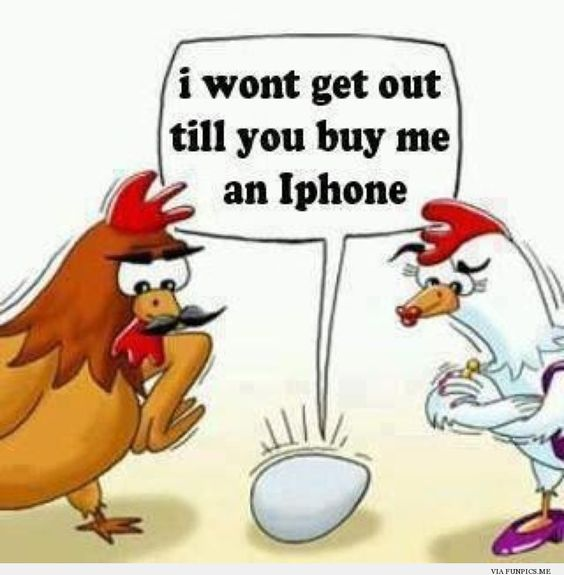 Buy me an iphone