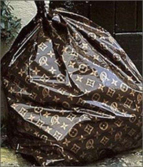 Louis Vuitton Garbage Bag louis vuitton trash bags mafrlvby | recipes | pinterest | trash bag