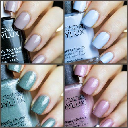 CND Vinylux Flora and Fauna + Weekly Top Coat