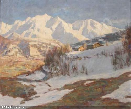 ABRATE Angelo - Dernières neiges à Sallanches (Mont Blanc)