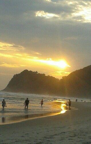 Pôr do sol - Camburi / São Sebastião