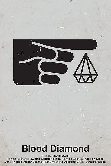 Simplicity movie poster Blood Diamond