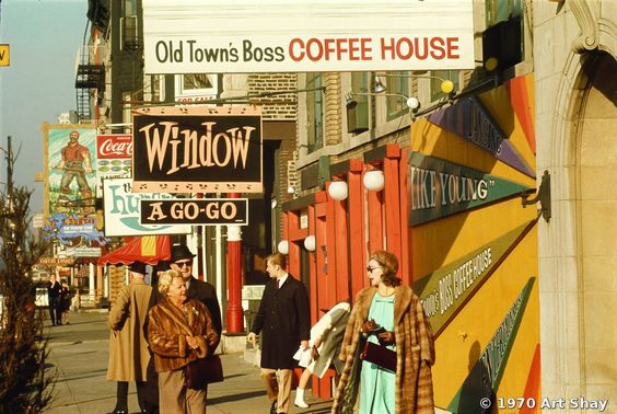 Old Town, Art Shay, Chicago, IL, 1970
