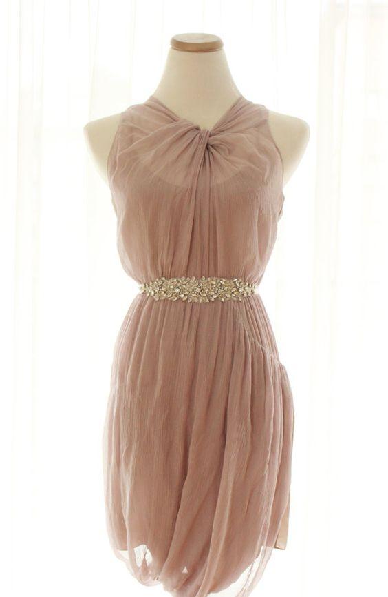 Vera Wang Lavender Cocktail Dress, Crystal Embellished Cocktail ...