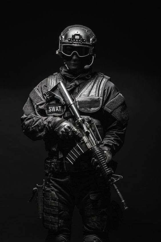Swat Amunition Military Special Forces Military Art Military Soldiers