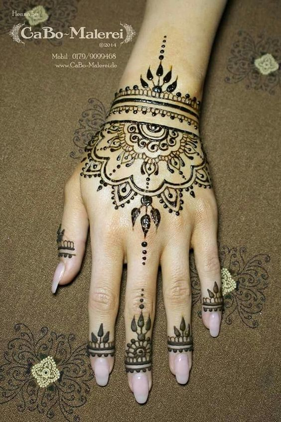 Henna Tattoo Hand Leicht Klein: Mehendi, Design And India On Pinterest