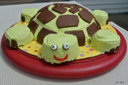 Turtle Cake with Vanilla Buttercream | Tasty Kitchen: A Happy Recipe Community!