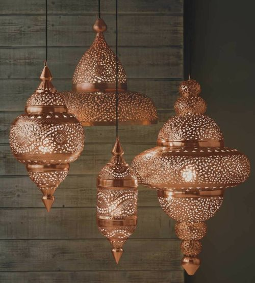 Marokkanische Muster erwärmen Ihre Wohnung im Herbst