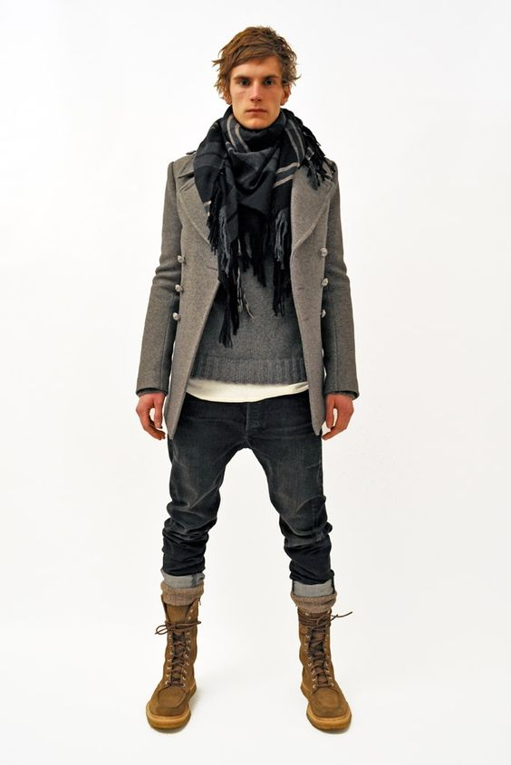 Great men's clothing.  Balmain-Mens-AW-11