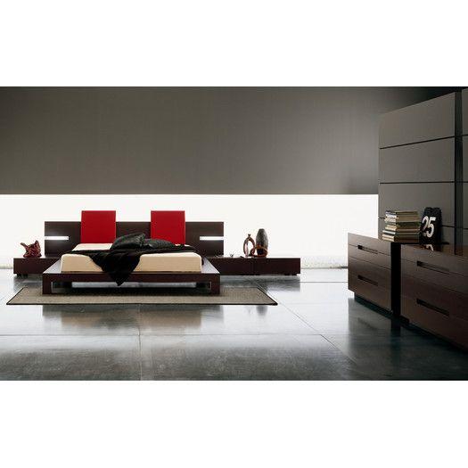 Rossetto USA Win Platform Customizable Bedroom Set | AllModern