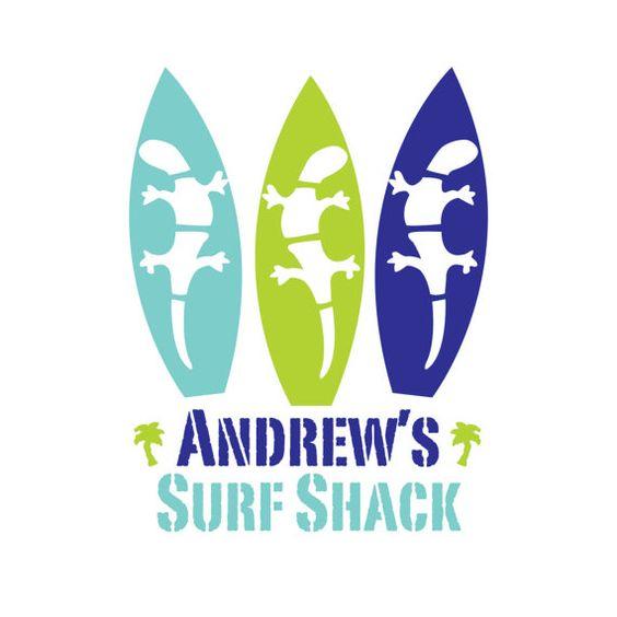 Nautical Nursery Baby Name Print Surf Nursery by NurseryArtGallery, $18.00