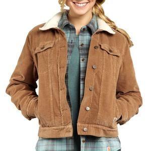 Sheepskin lined corduroy jacket | La Mode | Pinterest | Corduroy