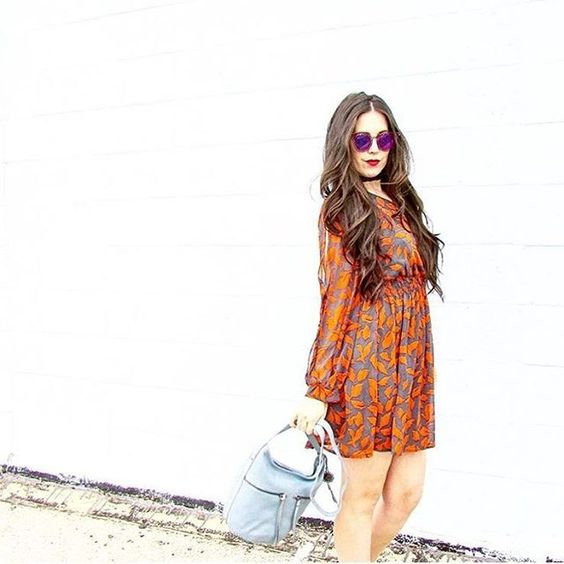 Taking it back to the '70s with this  look from Eye Hate Heels!