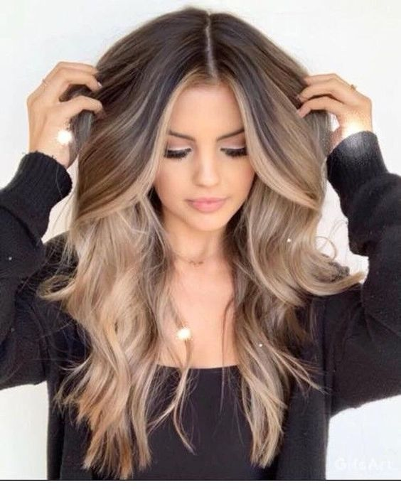 Nice Hairstyle For Any Hair Inspiring Ladies Hair Styles Long Hair Styles Balayage Hair