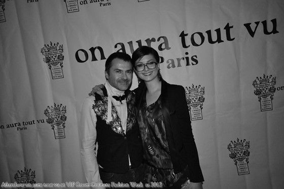 Aftershow Couture at VIP ROOM Paris Couture ss 2012