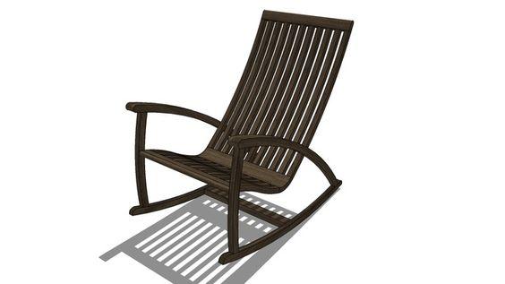 Cadeira de balanço - 3D Warehouse