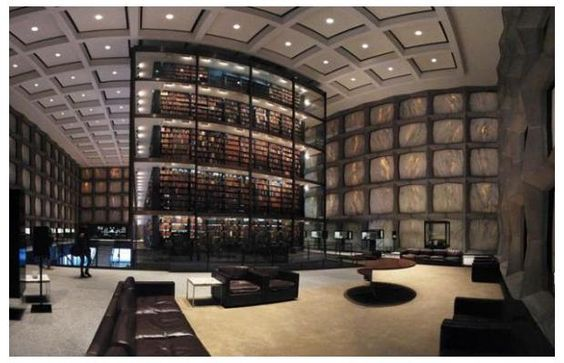One of 12 coolest libraries in the world ...