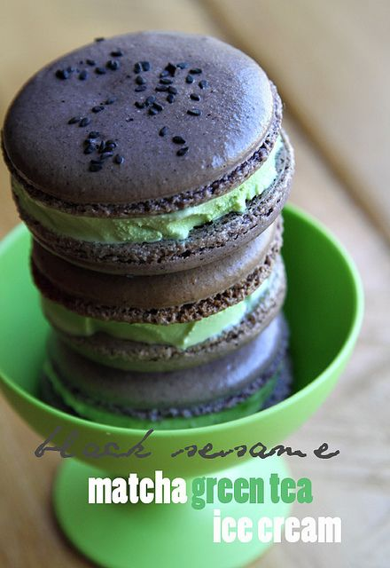 macaron icecream sandwich by Ravenous Couple, via Flickr