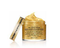 PETER THOMAS ROTH 24K Gold Mask ist eine luxuriöse Anti-Aging Maske. Glättet, strafft und erfrischt den Teint mit 24 Karat Gold und kolloidalem Gold und schenkt ihm ein opulentes Leuchten.  #meister_parfumerie #hamburg #pflege #anti_aging #24k_gold