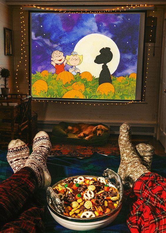The Great Pumpkin Movie Night